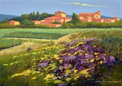 Fiori Estivi by Bruno Tinucci - Original Painting on Stretched Canvas sized 28x20 inches. Available from Whitewall Galleries